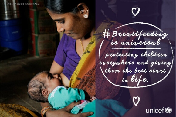 UNICEF on breastfeeding as a child right
