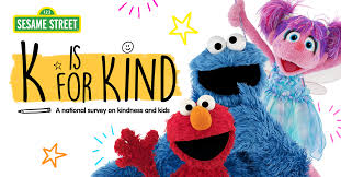 Kindness is important – Sesame Street survey results