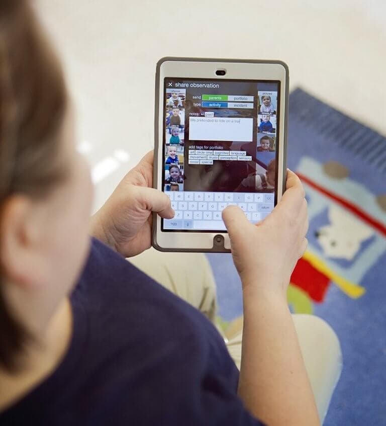 Mobile technology use of young children