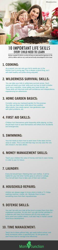 10 Important Life Skills
