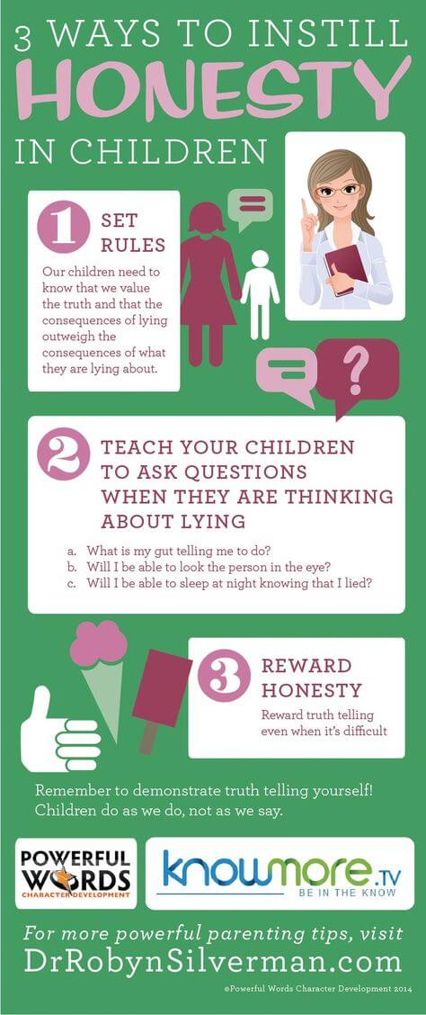 3 Ways to Instill Honesty in Children